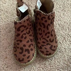 Gap cheetah boots